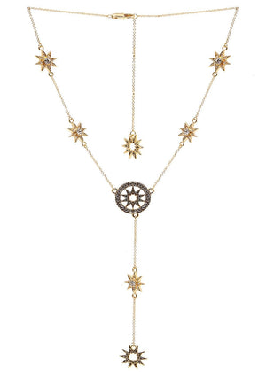 TeenzShop Star Drop Necklace