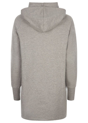TeenzShop Youth Girls Light Grey Longline Wink Hoodie