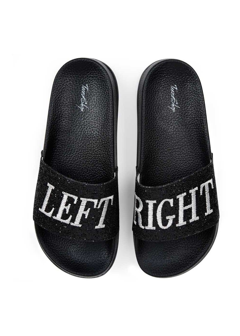 Teenzshop Left Right Glitter Pool Sliders