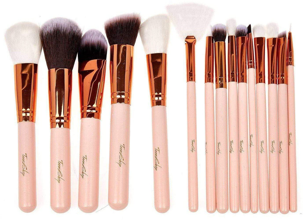 Rose Gold Make-up Brush Set and Bag - 2