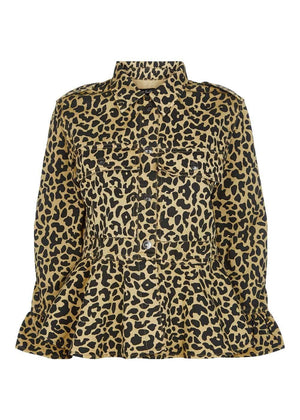 TeenzShop Youth Girls Meow Leopard Jacket