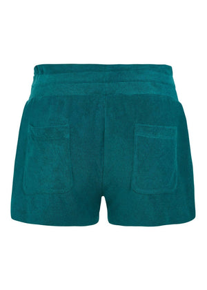 Teenzshop Youth Girls Teal Terry Shorts