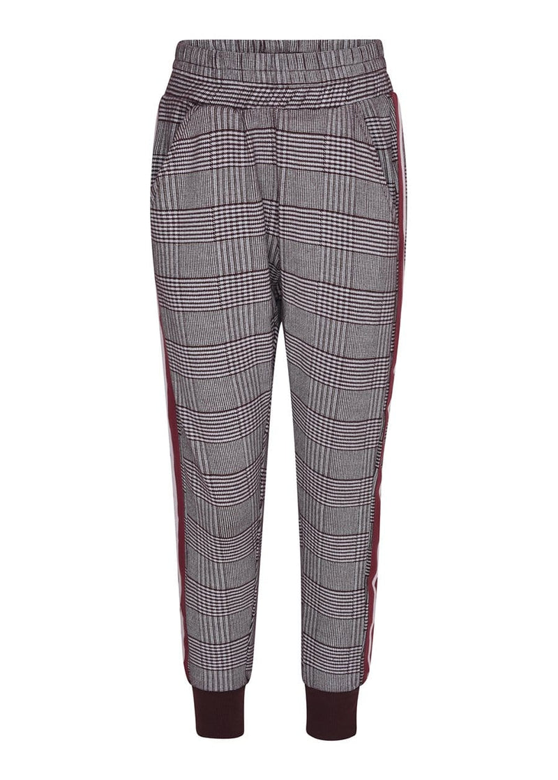 TeenzShop Youth Girls Prince of Wales Checkered Joggers
