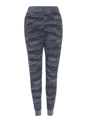 TeenzShop Youth Girls Camo Basic Ripped Joggers