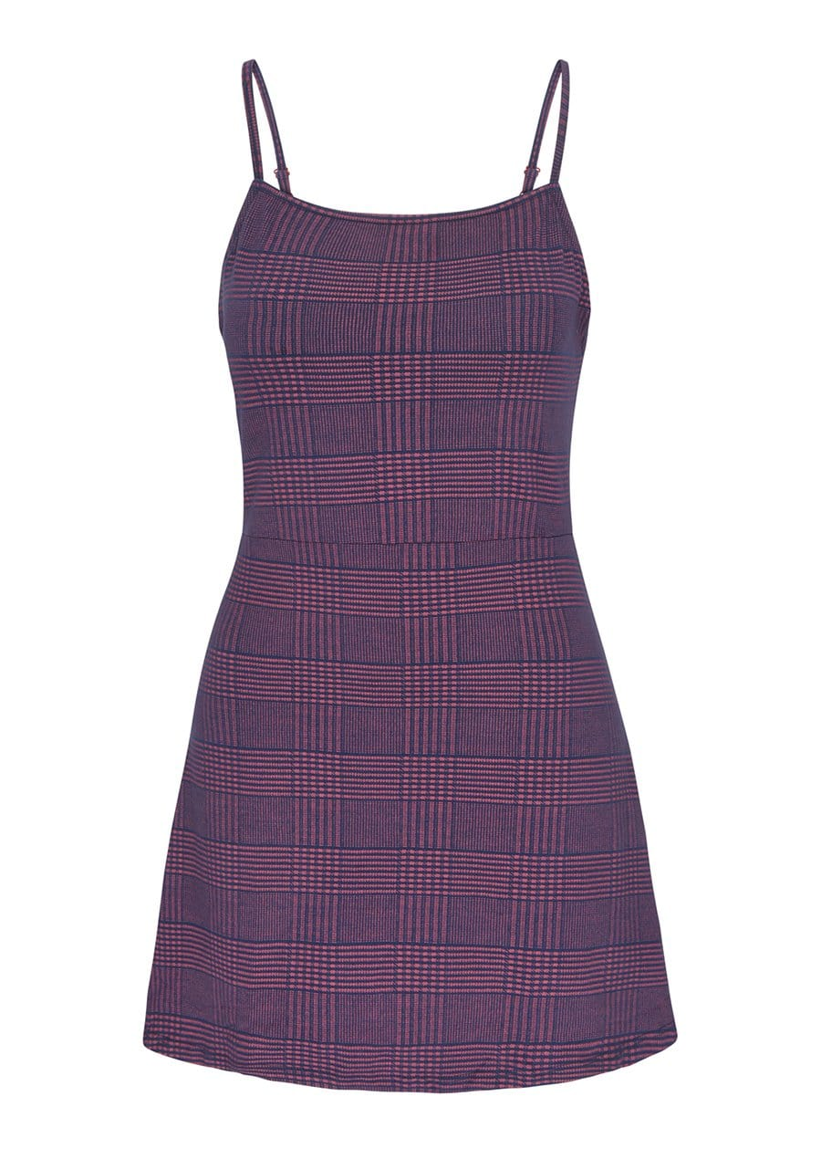 Youth Girls Burgundy Clueless Dress Front