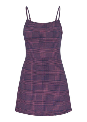 Girls Burgundy Clueless Dress-TeenzShop