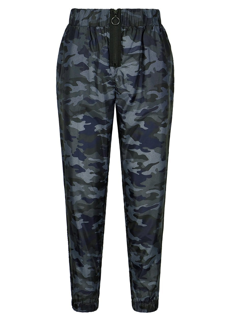 TeenzShop Youth Girls Camo Lightweight Shell Joggers - SUSTAINABLE FABRIC