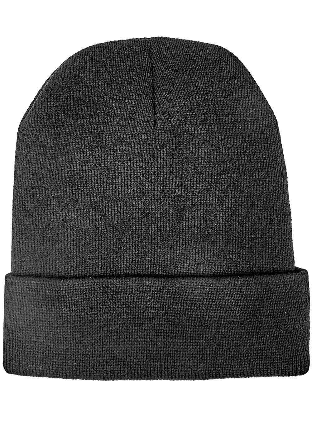 Teenzshop Wink Eye Beanie - Black - Back
