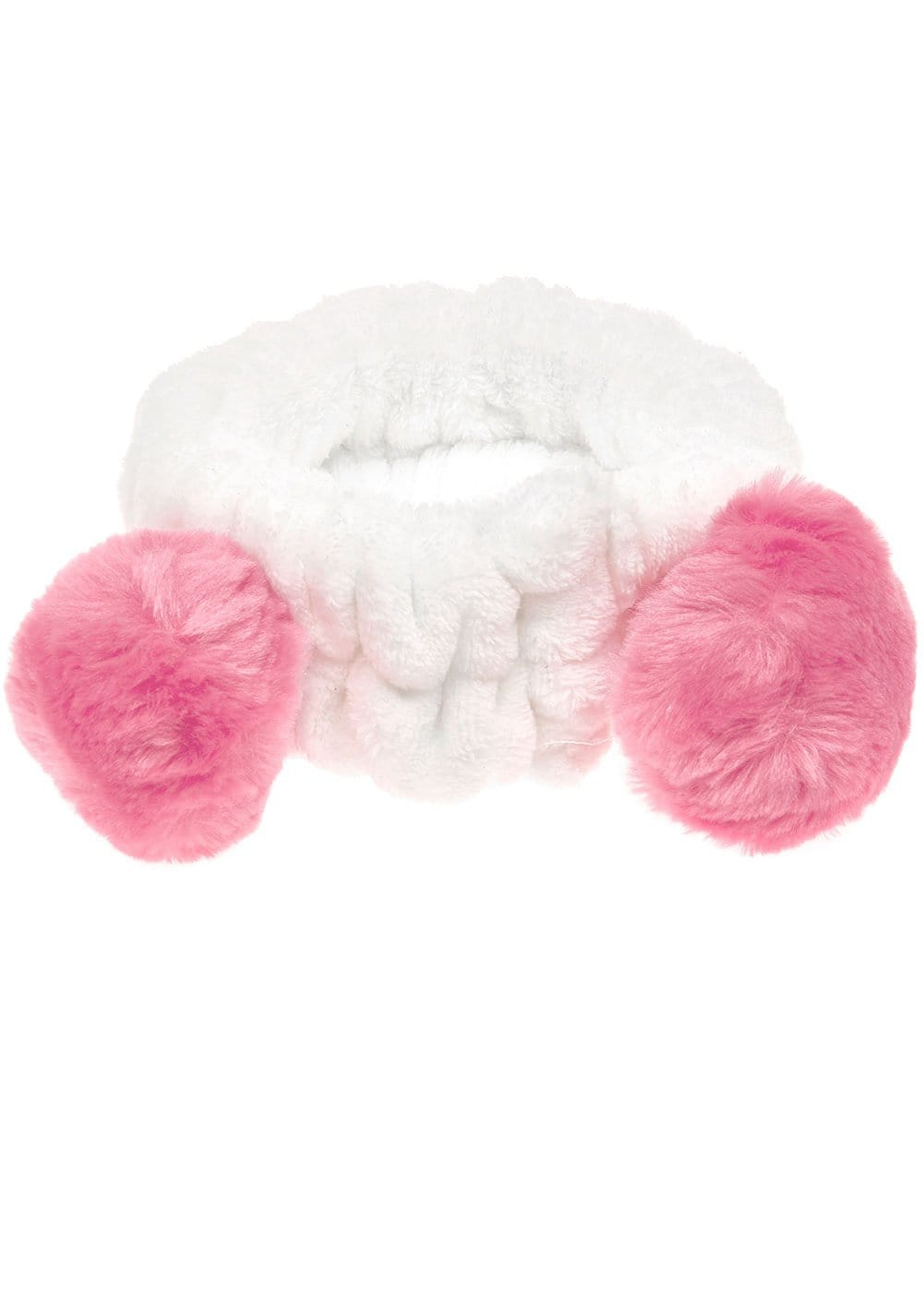 Light Pink Wash Headband with Ears