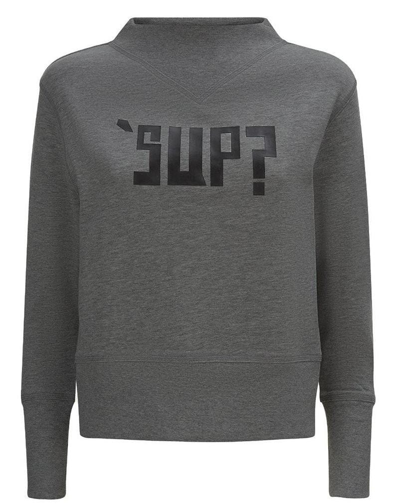 TeenzShop Youth Girls Dark Grey SUP? Sweatshirt