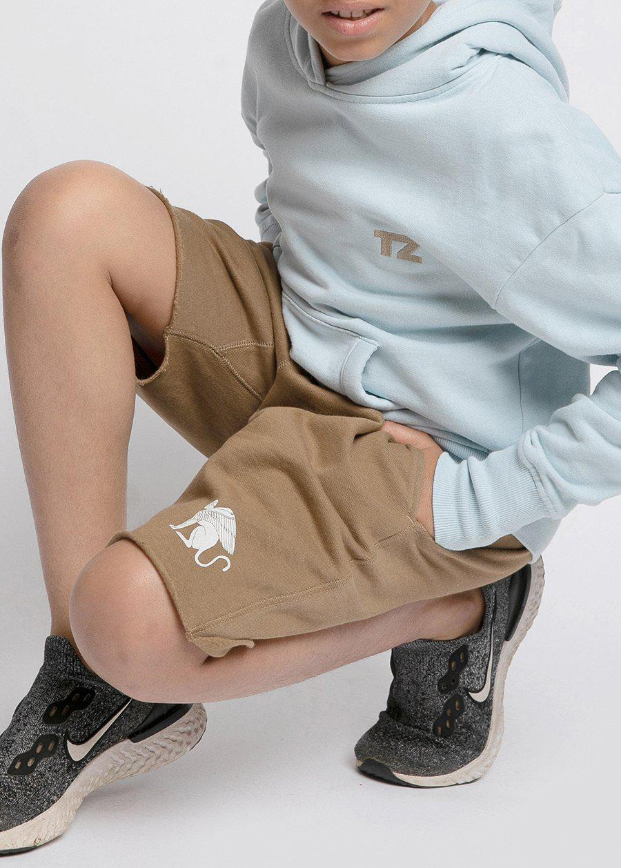 Boys Sweat Shorts With Sphinx Logo