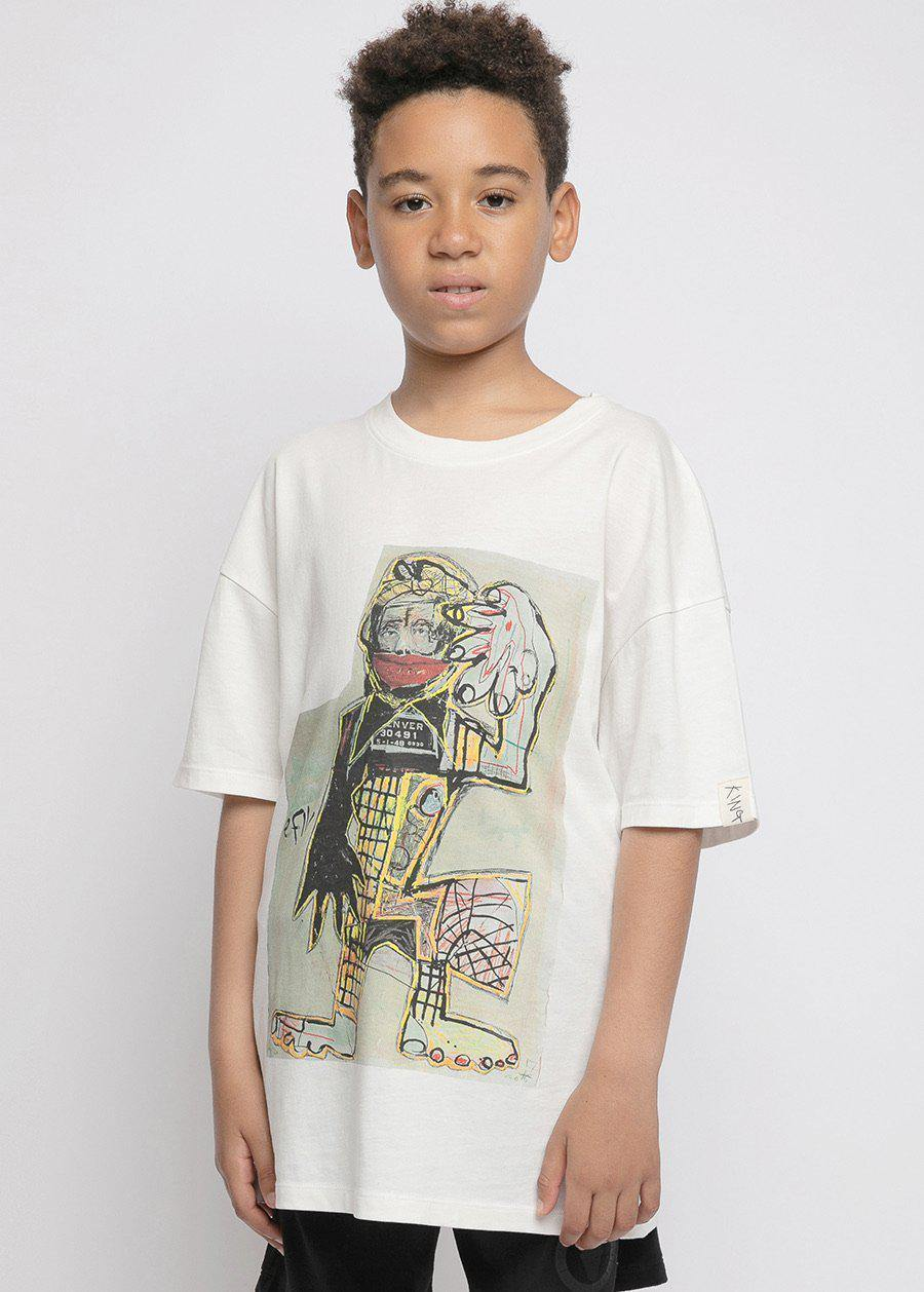 Boys David King Graphic T-Shirt-TeenzShop