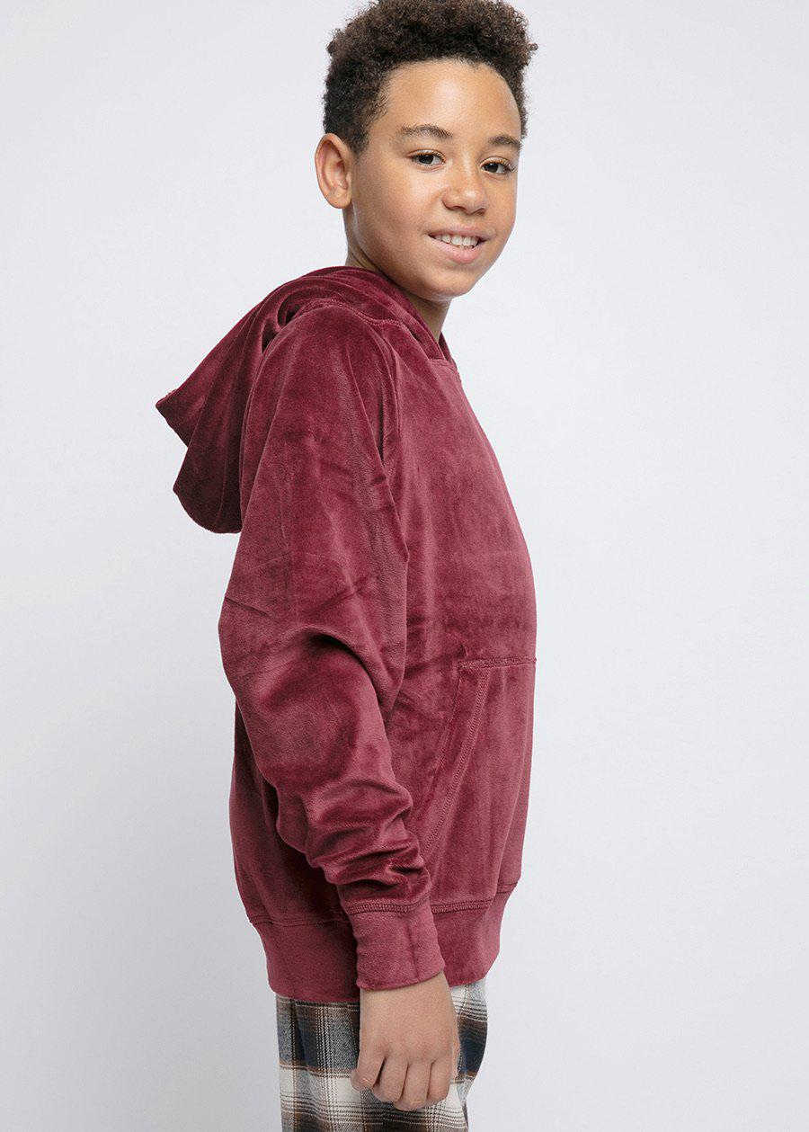 Youth Boys Velour Toro Hoodie-TeenzShop