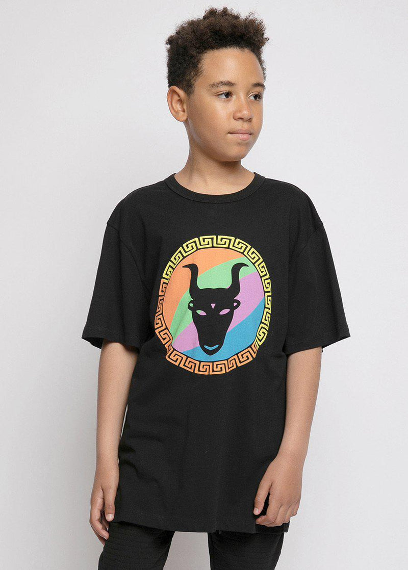 Youth Boys Multi Colour Front Logo T-Shirt