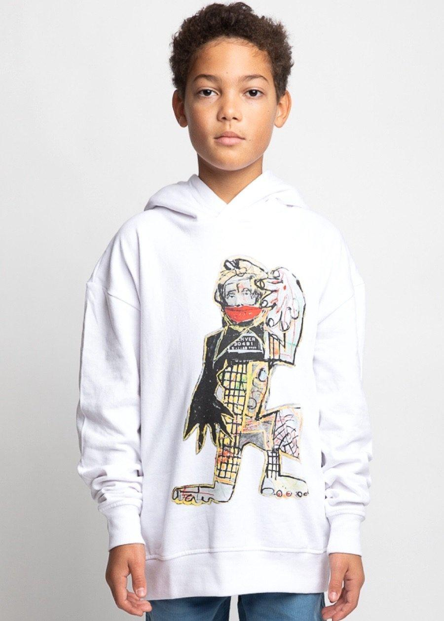 Boys David King Graphic Hoodie-TeenzShop