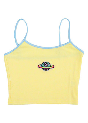 Yellow Planet Cami Top