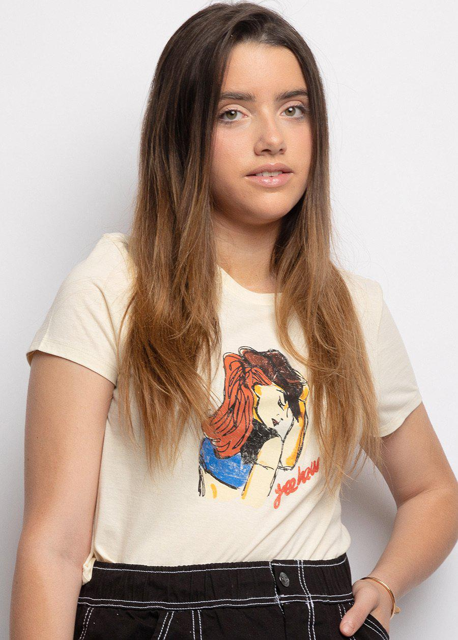 Cream Cowgirls Graphic T-shirt