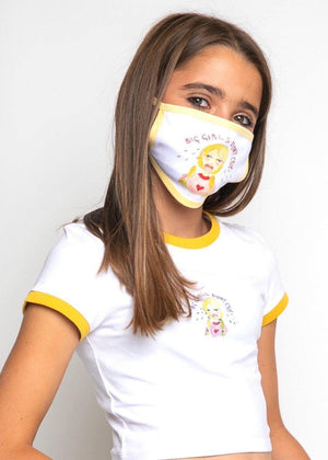 Big Girls Don't Cry Face Mask-TeenzShop