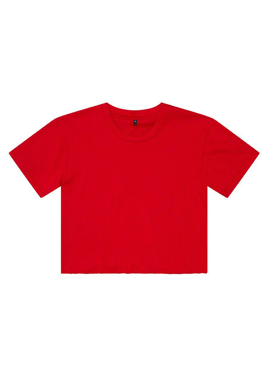 Red Best Friend Basic T-shirt