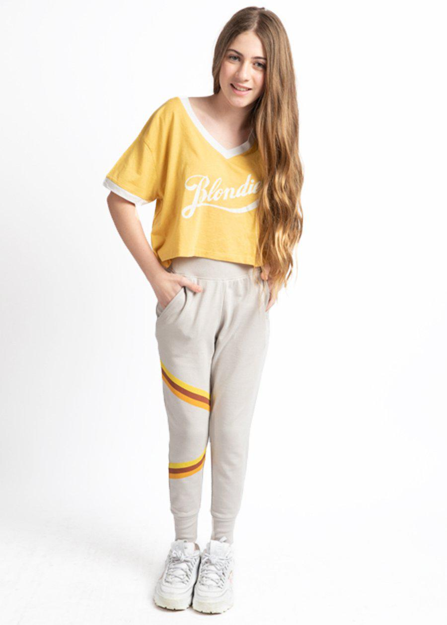 Youth Girls Retro Stripe Joggers