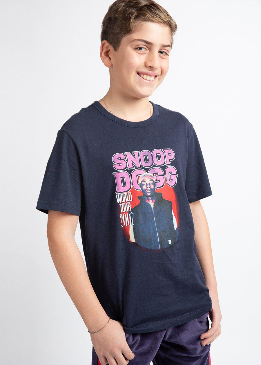 Snoop Dogg World Tour Navy T-shirt