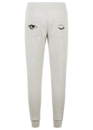 Teenzshop Youth Girls Grey Teenzshop Basic Tapered Leg Joggers