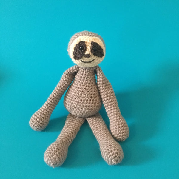 Leaf The Sloth Crochet Pattern Download Chameleon Crafters