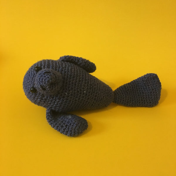 Rhonda the Manatee Crochet Kit