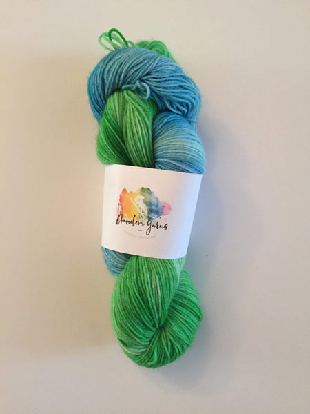 Skywalker Hand Dyed Yarn, 100g/400m, 4 ply/fingering/sock yarn