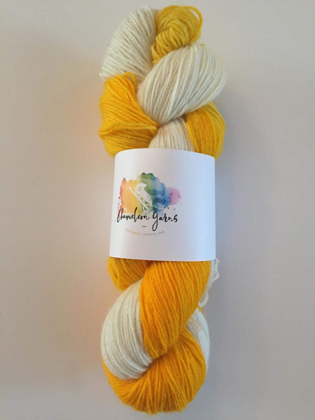 Daisy Chain Hand Dyed, 100g/400m, 4ply/fingering/sock yarn