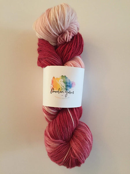 Lickety Split Hand Dyed Yarn, 100g/400m, 4ply, fingering, sock yarn