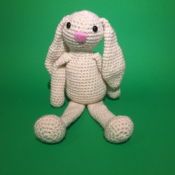 Luna the Hare crochet pattern download