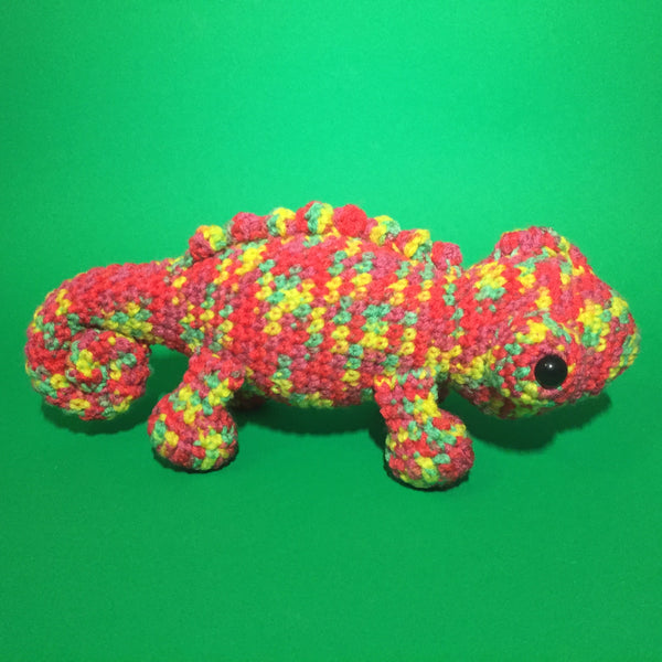 Pablo the Chameleon Crochet Pattern Download