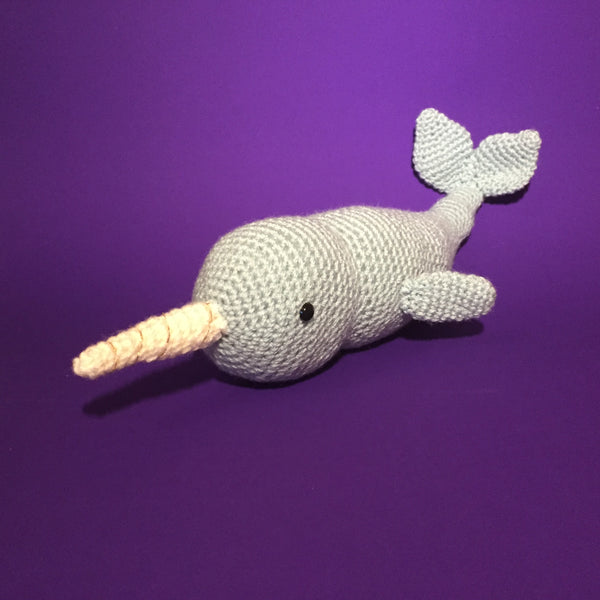 Viola the Narwhal Crochet Kit