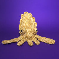 Betty the Cuttlefish Crochet Pattern Download