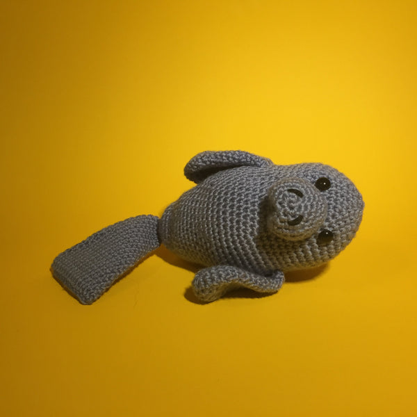 Rhonda the Manatee Crochet Pattern Download