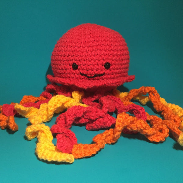 Coral the Jellyfish Crochet Pattern Download