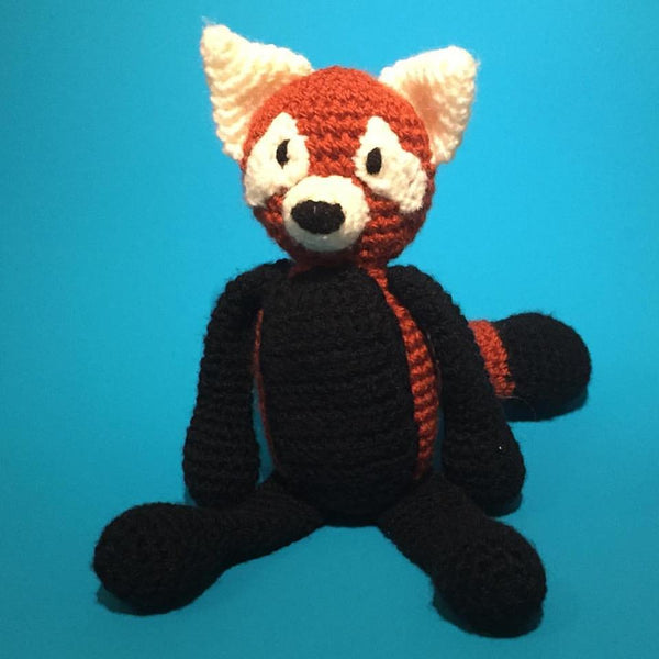Axel the Red Panda Crochet Pattern Download – Chameleon Crafters