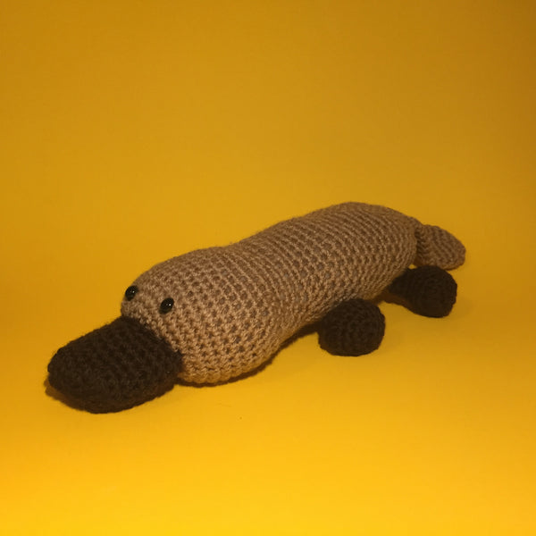 SALE Charlene the Platypus Crochet Kit