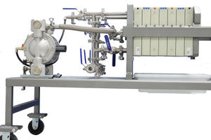 FDA cGMP Filter Press 0.3 Cubic Feet