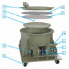 Vent Valve for Filter Trolleys
