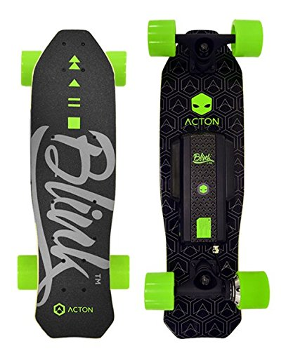 ACTON BLINK Lite | Thanksgiving Gift Special | World's Lightest Electric Skateboard for Youth | With LED Lights | Up To 5 Mile Range | 10 MPH Top Speed | Bluetooth Remote Control Included - Gogreenebikeco