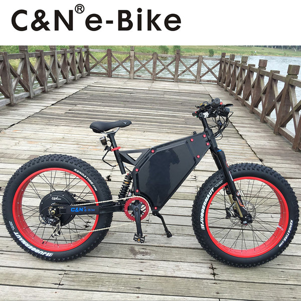 2017 Cool Design 72v 5000W Fat Tire E-bike Electric Mountain Bike/Electric Bike/Electric bicycle/Enduro ebike - Gogreenebikeco