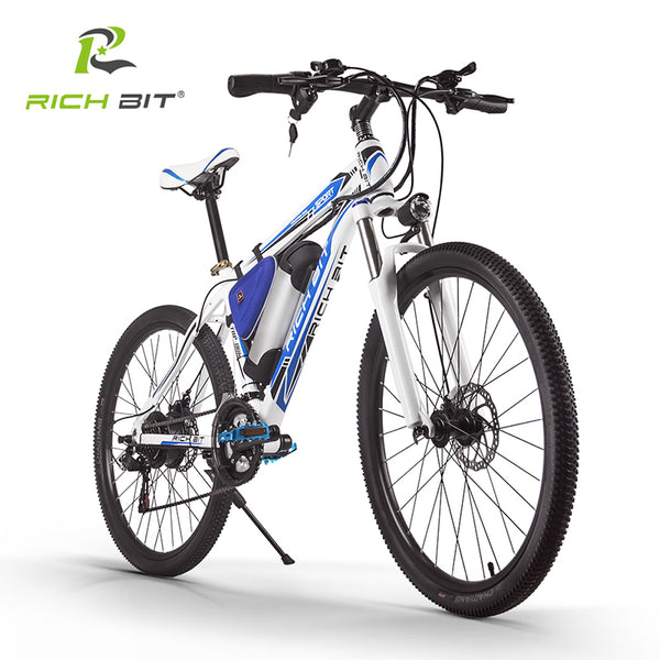 Shipping Free RichBit RT-006 MTB ebike 36V 10.4AH Lithium Battery Electric Bicycle 21 Speed Mountain Electric Bike 250W EBike