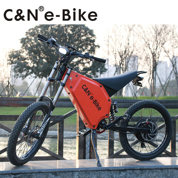 2017 Hot Selling Powerful 72v 5000w Electric Bike Electric Motorcycle Mountain Bike - Gogreenebikeco