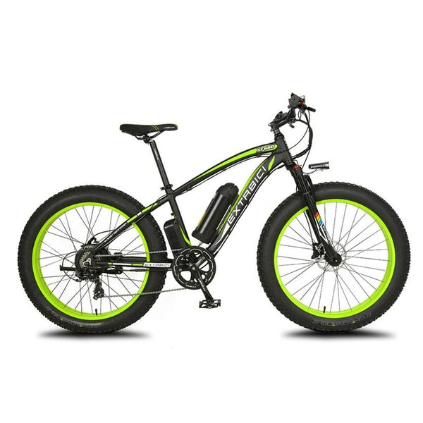1000W 48V 16AH Cyrusher XF660 Fat Bike Snow Beach MTB Electric Bike 5 Setting Smart Computer Hydraulic Disc Brake 7 Speed ebike