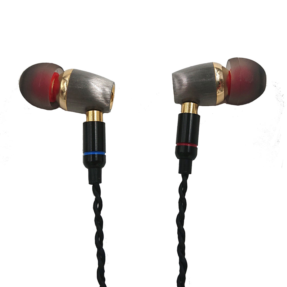 Premium Hi Definition MMCX in-ear Headphones with Patented Japanese 9.8mm Drivers - studio19london