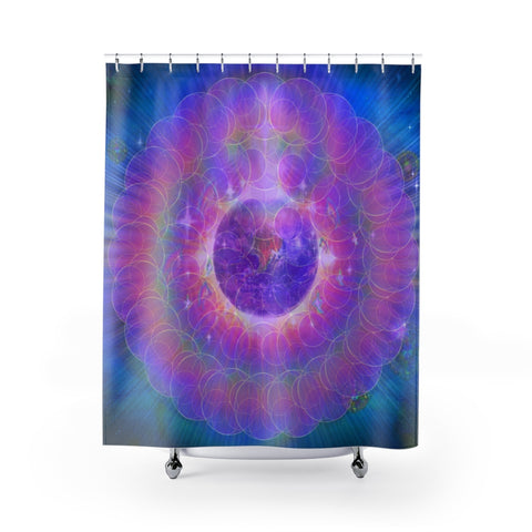 EarthLight - Shower Curtain