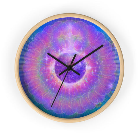 EarthLight - Wall clock