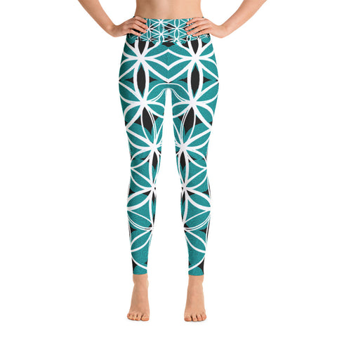 Sacred Flower Life - Yoga Leggings